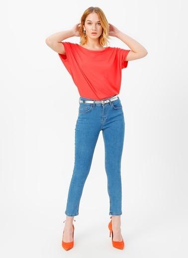 Fabrika Comfort Tişört Kırmızı